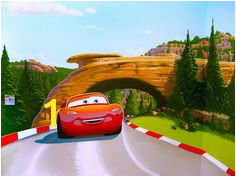 cars mural for emma bunton Man Room Jade Jones Pixar Emma Bunton