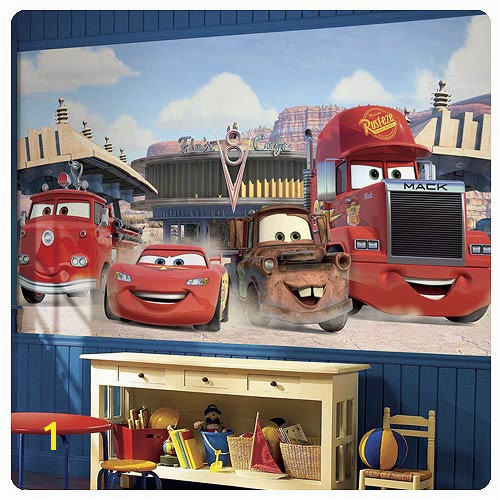 Disney Cars Friends To The Finish Full Wall Mural Part 5