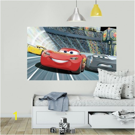High Quality Decorate With Disney Pixar Cars 3 Peel And Stick Wall Mural Part 26
