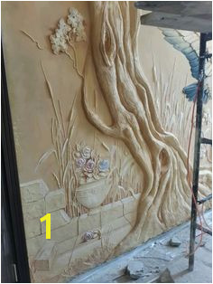 46 ОднокРассники Drywall Mud Mural Art 3d Wall Art Mural Wall