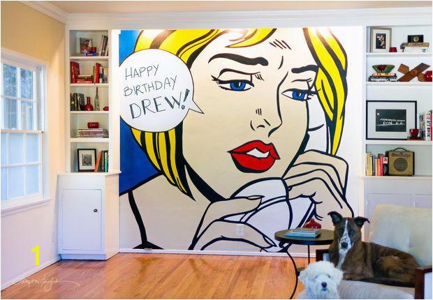 Pop Art Wall Murals Diy Wall Pop Art Diy and Craft Projects Pinterest