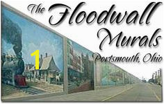 The Floodwall Murals Portsmouth Ohio Beautiful Places To Visit Buckeyes Road Trips
