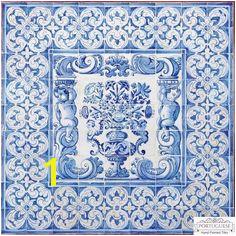 ALBARRADA Hand Painted Ceramic Tile Mural Backsplash Custom Painted Indoor Outdoor Tiles