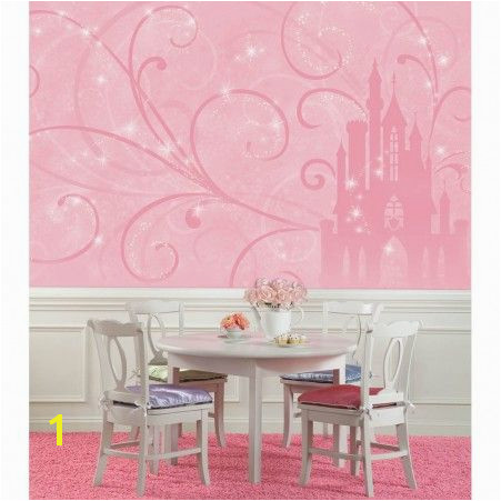 Princess Tiana Wall Mural Disney Princess Scroll Castle Xl Wallpaper Mural 10 5 X 6
