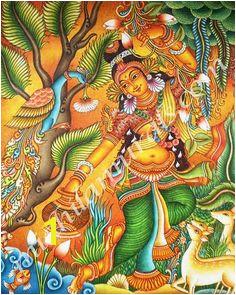 Pichwai Paintings Indian Art Paintings Kerala Mural Painting Madhubani Painting Base