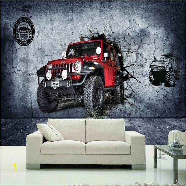 Zdjęcia tapety 3D stereo carwall motocross race track tapety mural tapety salon sypialnia Cafe