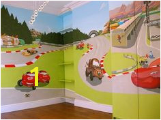 "Pixar s Cars Mural for ""Baby Spice"""