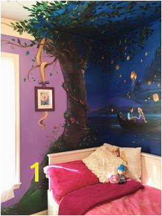 Rapunzel Wall Mural 12 Best Disney Wall Murals Images