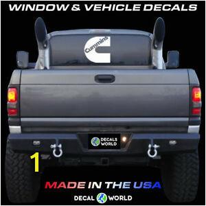 Image is loading 7 inch Cummins Decal Vinyl Window Dodge Ram