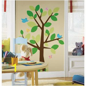 RoomMates Peel & Stick Wall Decal Dotted Tree Walmart