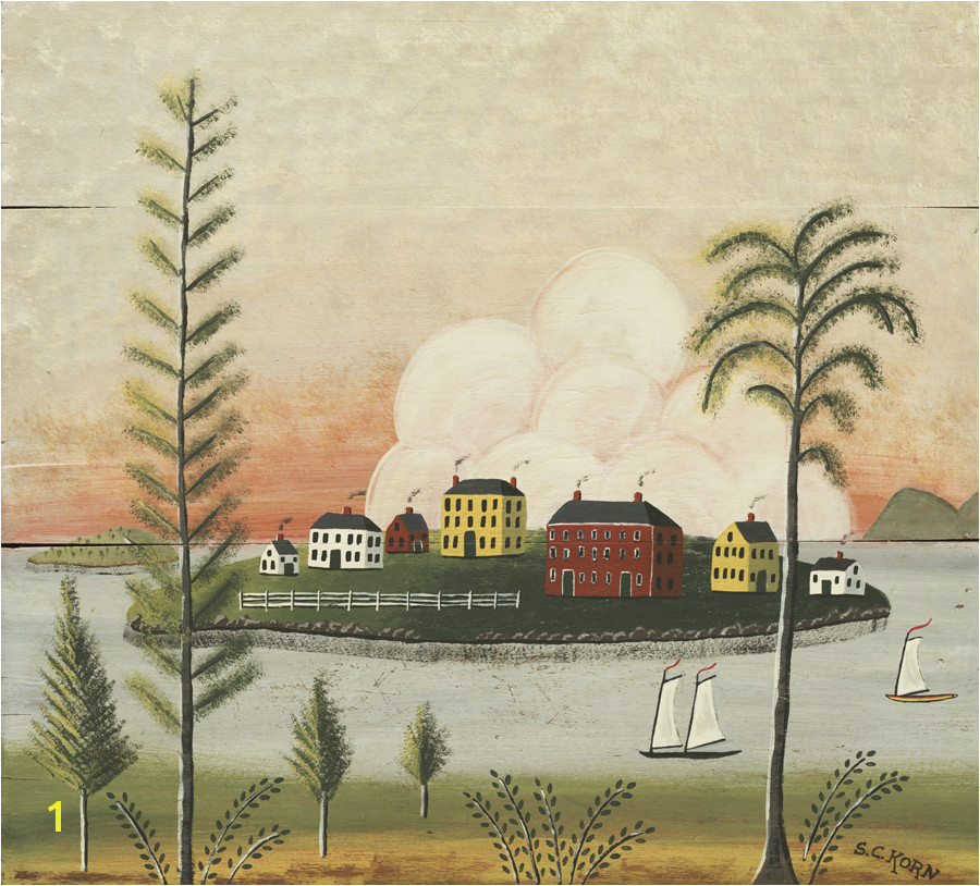 Rufus Porter Murals Rufus Porter Inspired Scenic Landscape Murals