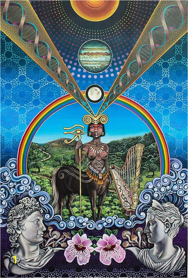The Centaur by Noa Knafo Sacred Geometry 3