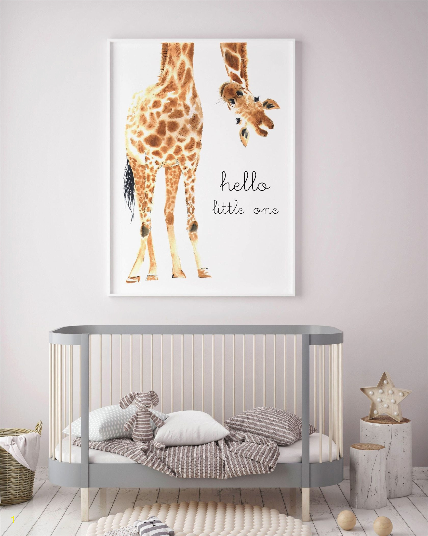 Giraffe Animal nursery decor Nursery wall art PRINTABLE art animal prints Nursery