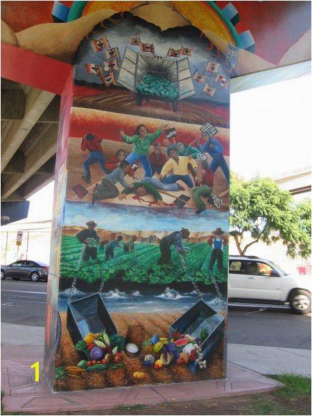 Chicano Park Hispanic Heritage Political Art Mural Ideas Nice Art Street