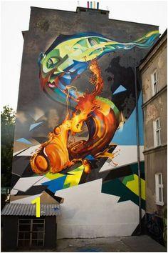 Cekas x Elomelo New Mural In Lublin Poland