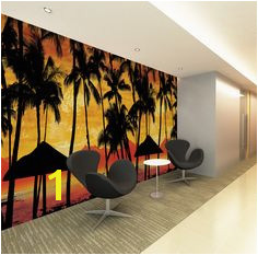 JP London Scarface Sunset Frank s fice Repeating Surround The Room Fully Removable Prepasted Mural at High by Wid