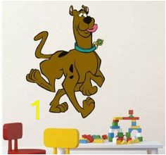 "Scooby Doo 33"" dog Wall Sticker Baby Kids Nursery Home Room Decors Mural Art Decals Adhesive Decorative"