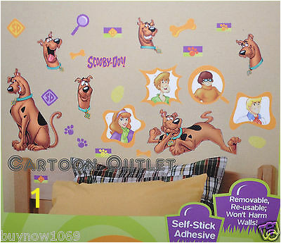 Scooby Doo Wall Mural Emily Collection On Ebay