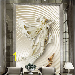 Wallpaper European Style 3D Stereoscopic Fashion Sculpture Wall Mural Living Room Hotel Entrance Hall Backdrop Wall Decor