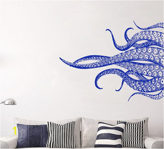 Octopus Tentacles Wall Art Decal MEASUREMENTS AVAILABLE ============================ • 16 tall x 19 wide • 20 tall x 24 wide • 24 tall x 28 wide