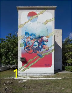 Sea Walls Murals for Oceans in Cancun 2016