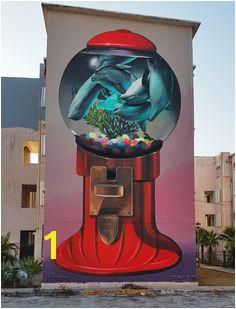 Sea Walls Murals for Oceans in Cancun 2016