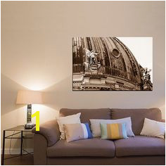 Berlin canvas large wall art sepia by UnAirDeParisByAlbane on Etsy Architectural Prints Living Room