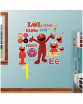 Sesame Street Wall Mural Amazing New Deals On Sesame Street Elmo Time to Learn Wall