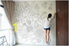 A sharpie wall mural doodled entirely with sharpies within a period of 3 days The