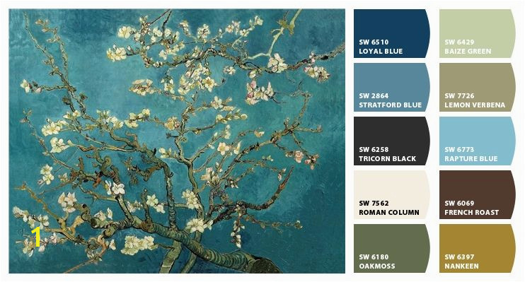 "Van Gogh ""Cherry Blossoms"" Chip It by Sherwin Williams – Home"