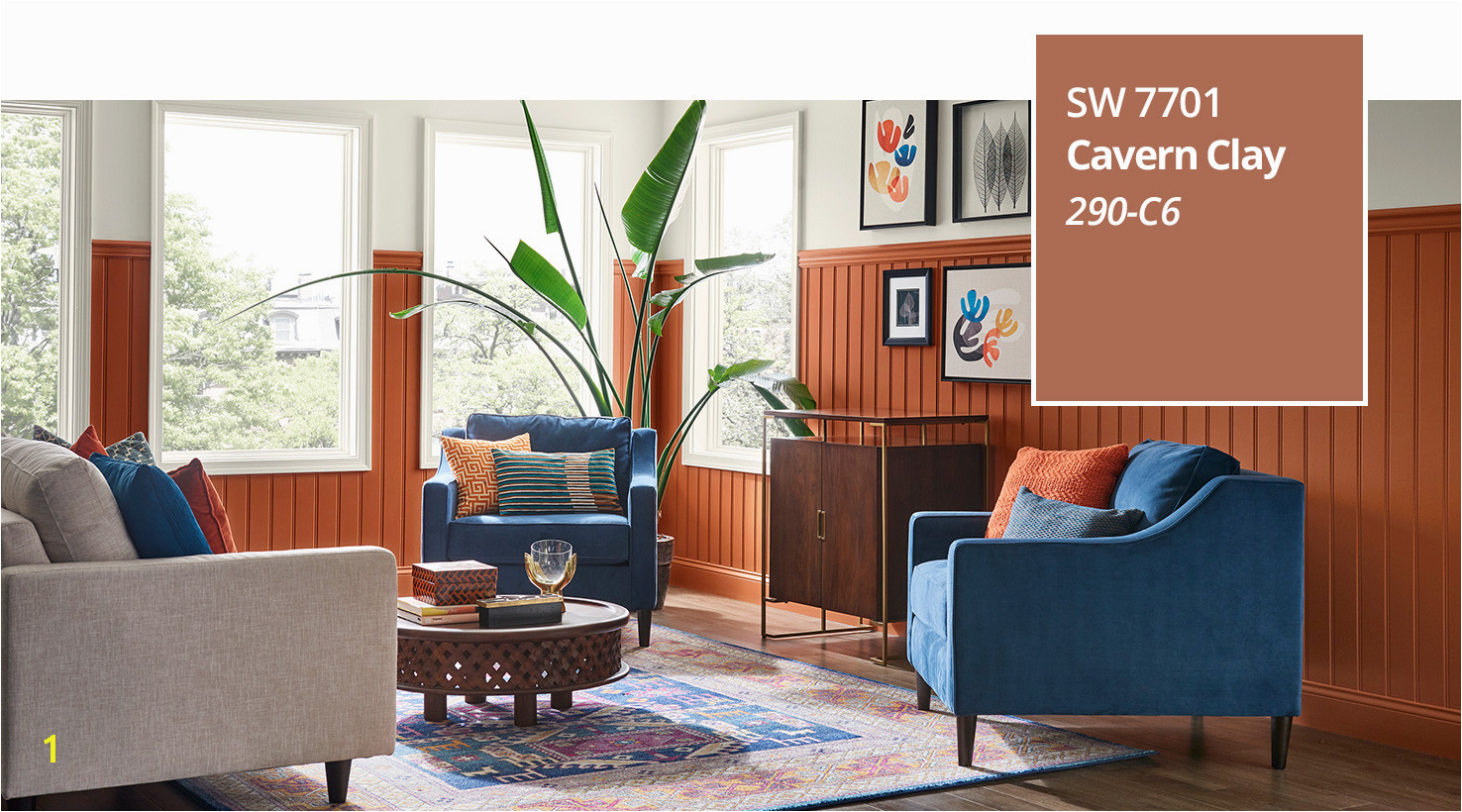 SW Color of the Year 2019 Cavern Clay SW 7701 slide 3