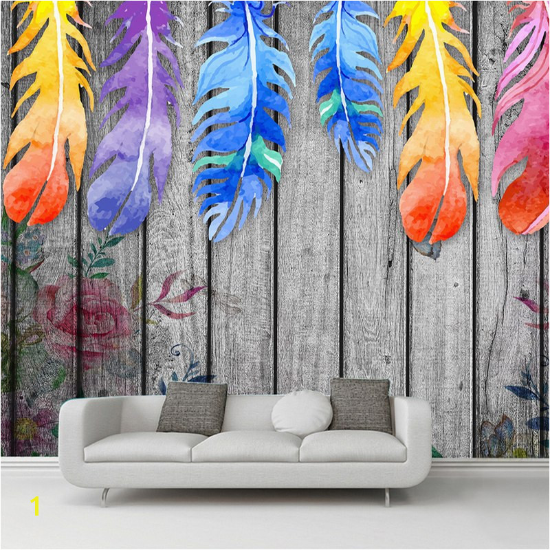 Small Size Wall Murals Custom Any Size 3d Wall Murals Wallpaper Modern Hand Painted Wood