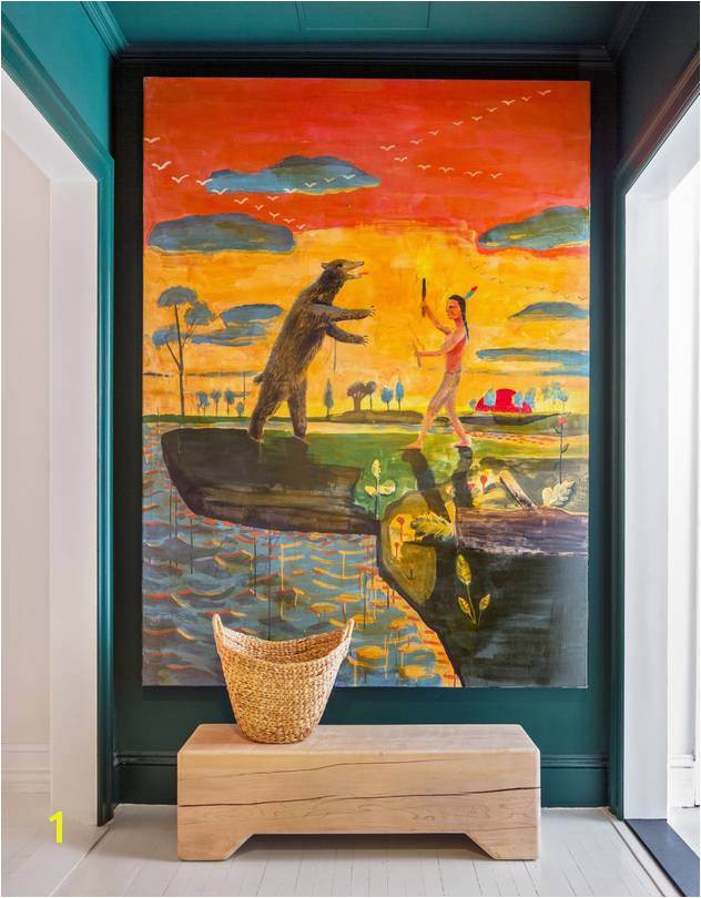 Small Size Wall Murals Huge Art In Small Rooms the Design Insiders Trick Wsj