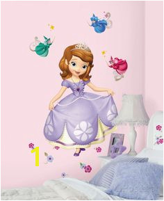 Sofia the First Peel and Stick Giant Wall Decals Wall Decal