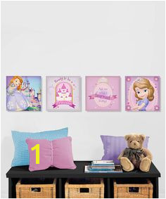 Love this Sofia the First Canvas Wall Art Set on zulily zulilyfinds Sofia