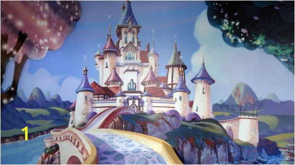Sofia the First Castle background