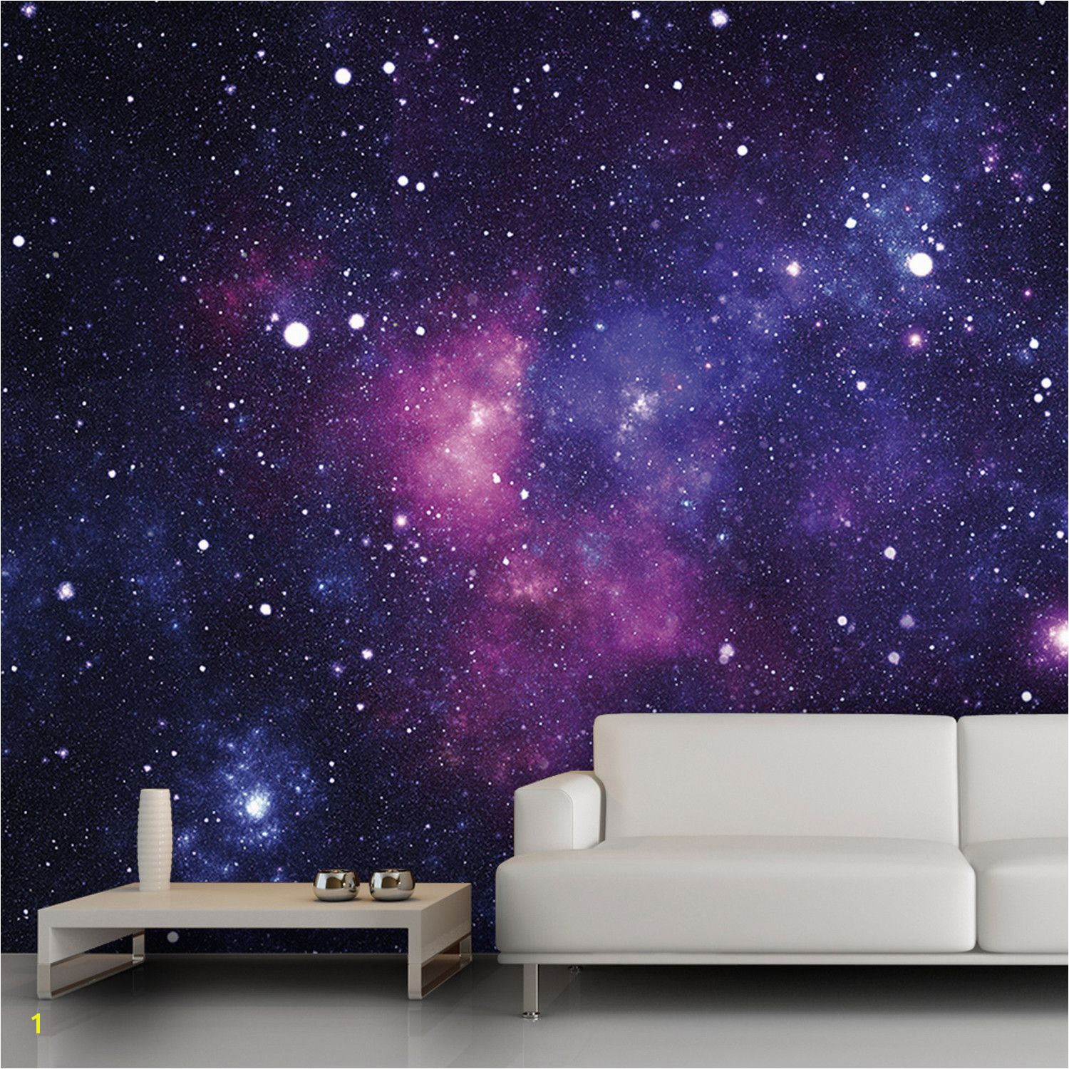 Galaxy wall mural 13 x9 $54 trying to think of cool wall decor for practice rooms and or hang space tied in to songs Ziggy stardusk