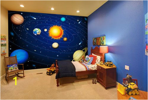 20 Wondrous Space Themed Bedroom Ideas You Should Try Space room