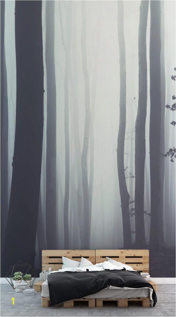 Beyond the Forest Wallpaper Mural MuralsWallpaper Flur Pinterest