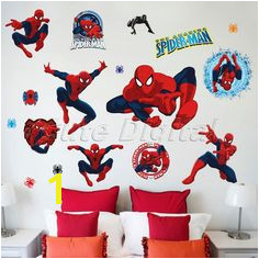 Spiderman Kids Boys Bedroom Wall Sticker Home Mural Decal Decoration Nursery Art