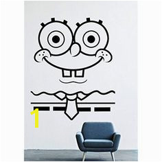 """SpongeBob SquarePants Wall Decals ¢€"""" SpongeBob Vinyl Stickers For Men Women Kids ¢€"""