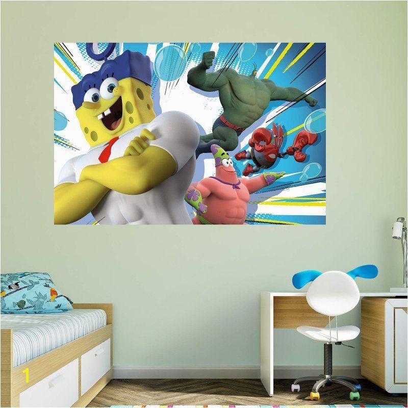 Spongebob Wall Murals Fathead Spongebob Movie Wall Mural 18 Products