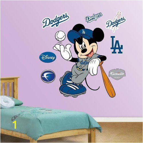 Minnie Pluto and Mickey Fat Head Time to start decorating the grandkids room