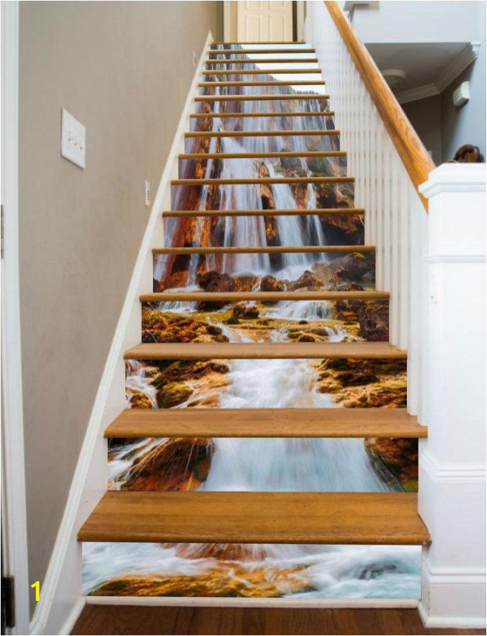 36 Creatives 3D Staircase Risers Decoration Ideas That You Will Love It