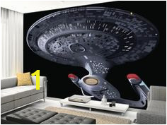 Fan of the original Star Treks How about this Star Trek Next Generation wall mural