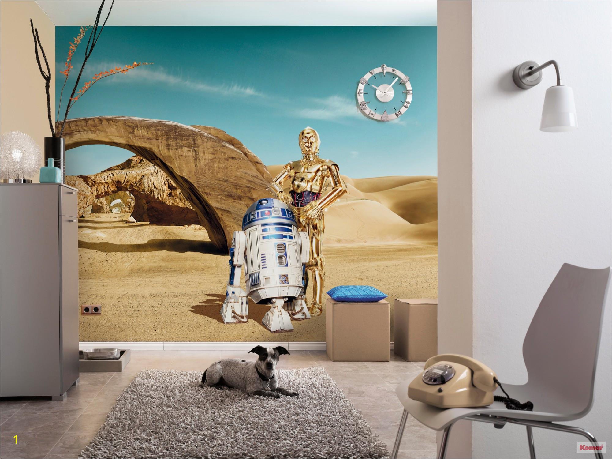 """Star Wars Room Murals Fototapete """"star Wars Lost Droids"""" Von Komar"""