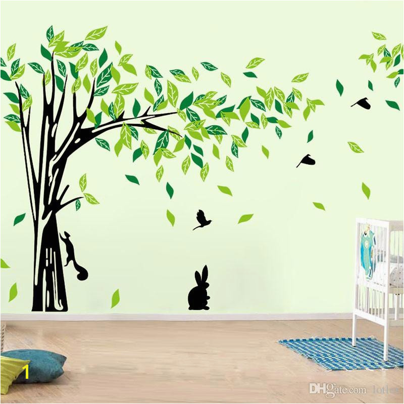 Tree Wall Sticker Living Room Removable PVC Wall Decals Family DIY Poster Wall Stickers Mural Art Home Decor Wall Quotes Wall Quotes Decals From