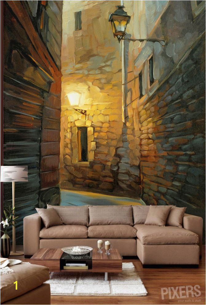 Ten trendy wall murals interior