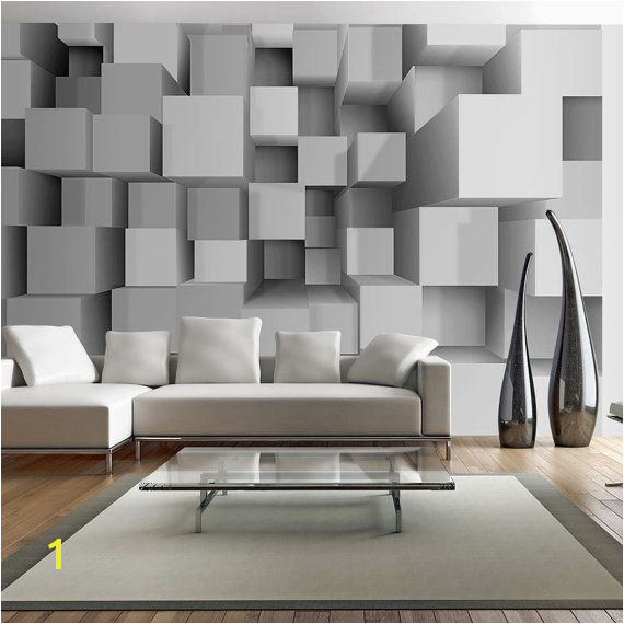 Wallpaper Wall Murals Non Woven 3D Modern Art Optical Illusion Brick Stone Effect Wall Decals Bedroom Decor Home Design Wall Art 232