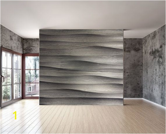 Wave stone wall mural is a repositionable peel & stick fabric material with an adhesive back can be installed on virtually any reasonable Flat and smooth
